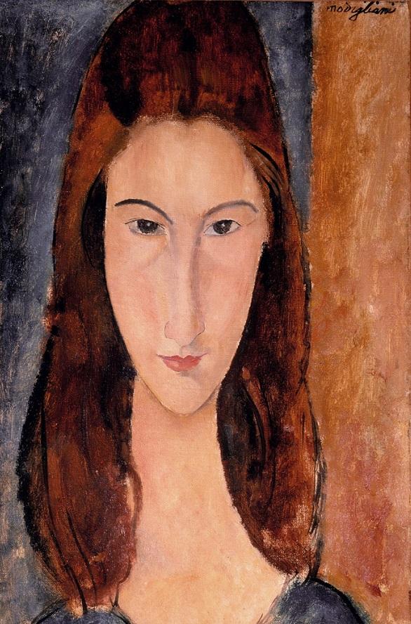 Jeanne Hebuterne 1919 By Amedeo Modigliani