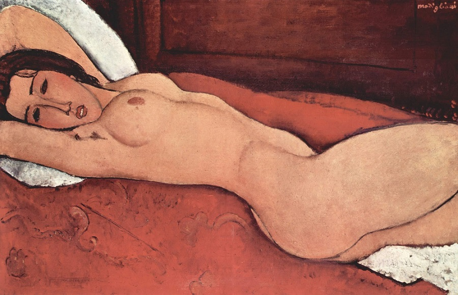 Reclining Nude, 1917 by Amedeo Modigliani